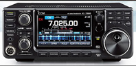 Icom IC-7300. Click for Icom Page.