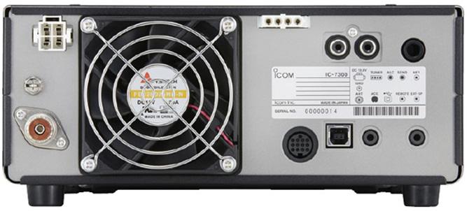 IC-7300 back panel