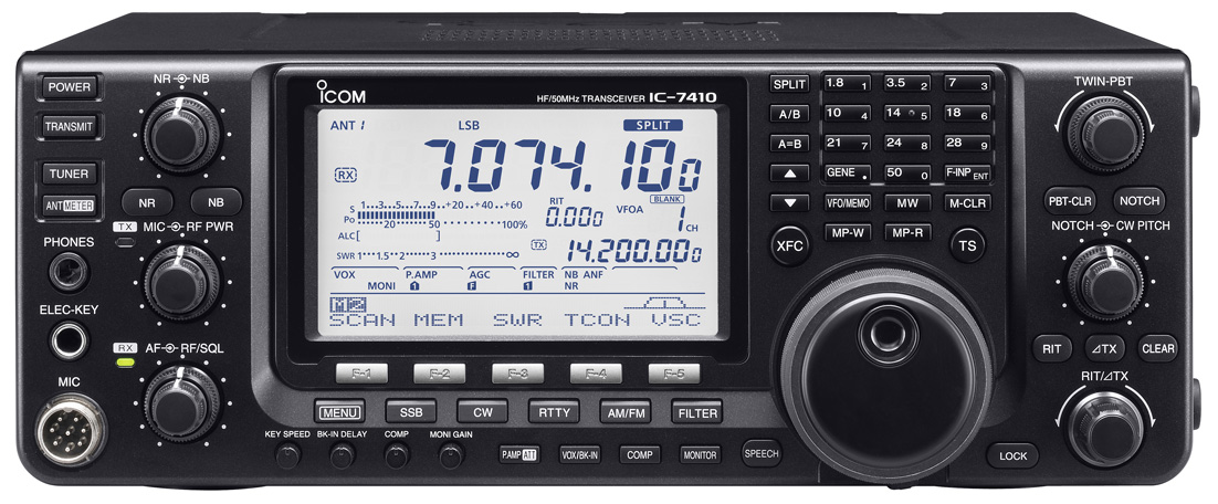 The new IC-7410