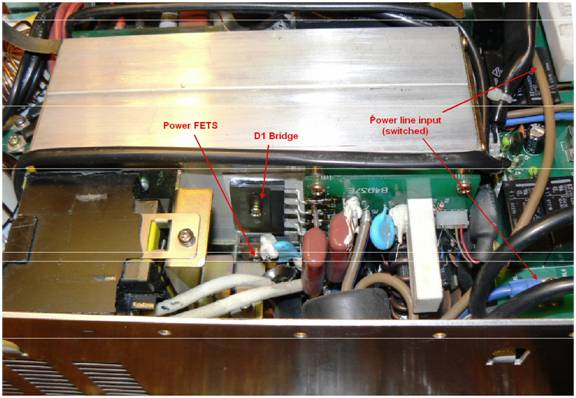 Modification #2 – Conversion to 800V surge 220V AC only operation