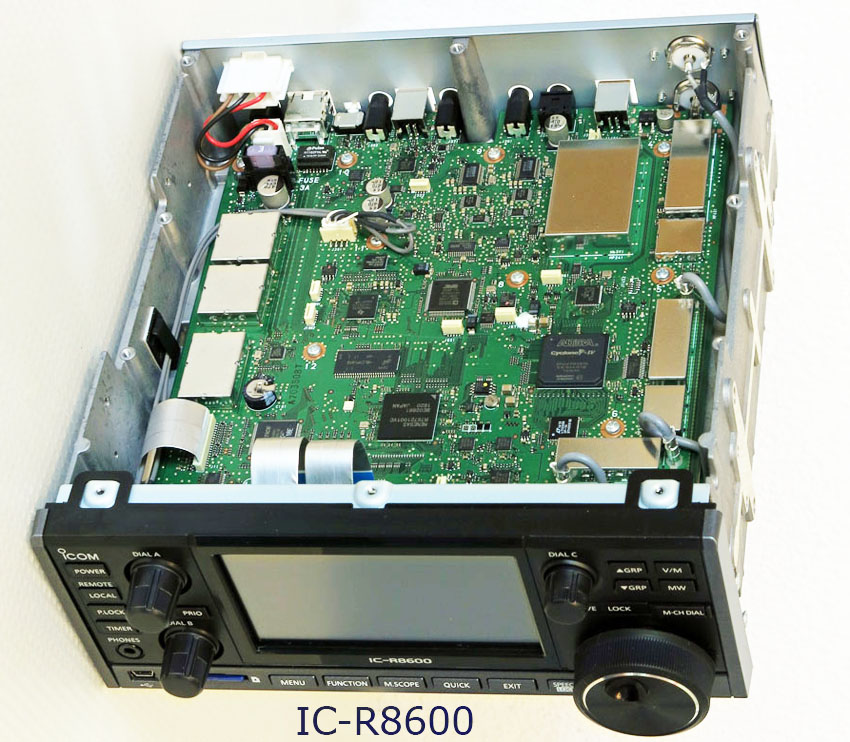 The new IC-R8600 Wideband SDR Receiver Icom R Schematic Diagram on
