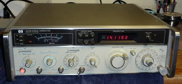 Hp Signal Generator : Choosing an rf signal generator